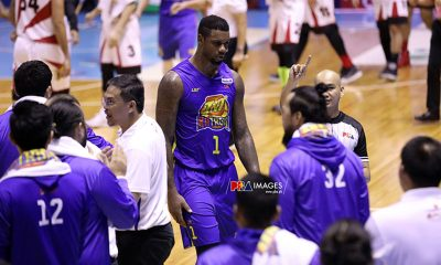 Tiebreaker Times Terrence Jones hopes PBA takes 'significant action' on Arwind Santos' racist antics Basketball News PBA  TNT Katropa Terrence Jones PBA Season 44 Arwind Santos 2019 PBA Commissioners Cup