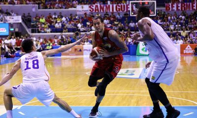 Tiebreaker Times San Miguel on track for Grand Slam, finishes down TNT in 6 Basketball News PBA  TNT Katropa Terrence Jones San Miguel Beermen Roger Pogoy PBA Season 44 Leo Austria June Mar Fajardo Jayson Castro Christian Standhardinger Chris McCullough Bong Ravena 2019 PBA Commissioners Cup