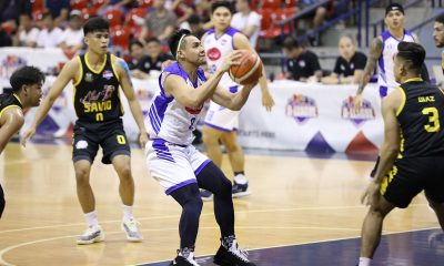 Tiebreaker Times Jhygrus Laude does it all as Asia's Lashes TM nips Nailtalk-Savio Basketball News PBA D-League  Rudolph Mienlam Rickson Gerero Nailtalk-Savio Unicorns Mike Calomot John Labrador Jhygrus Laude Francis Camacho Asia's Lashes Tomas Morato Soldiers Alvin Grey 2019 PBA D-League Second Conference
