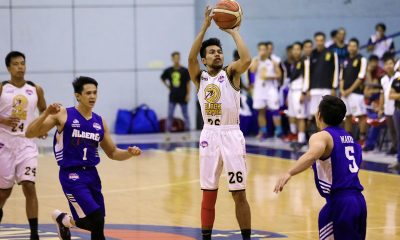 Tiebreaker Times Dahrell Caranguian impresses in debut as Black Mamba stuns Alberei Basketball News PBA D-League  Vis Valencia Reil Cervantes Lito Caro Jonathan Parreno John Tayongtong Dahrell Caranguian Clark Derige Black Mamba Alberei Kings 2019 PBA D-League Second Conference
