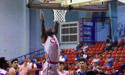 Tiebreaker Times CEU opens campaign with 30-point rout of Asia's Lashes Basketball News PBA D-League  Rich Guinitaran Maodo Malick Diouf Gabby Reyes Francis Camacho CEU Scorpions Asia's Lashes Tomas Morato Soldiers alvin gray 2019 PBA D-League Second Conference