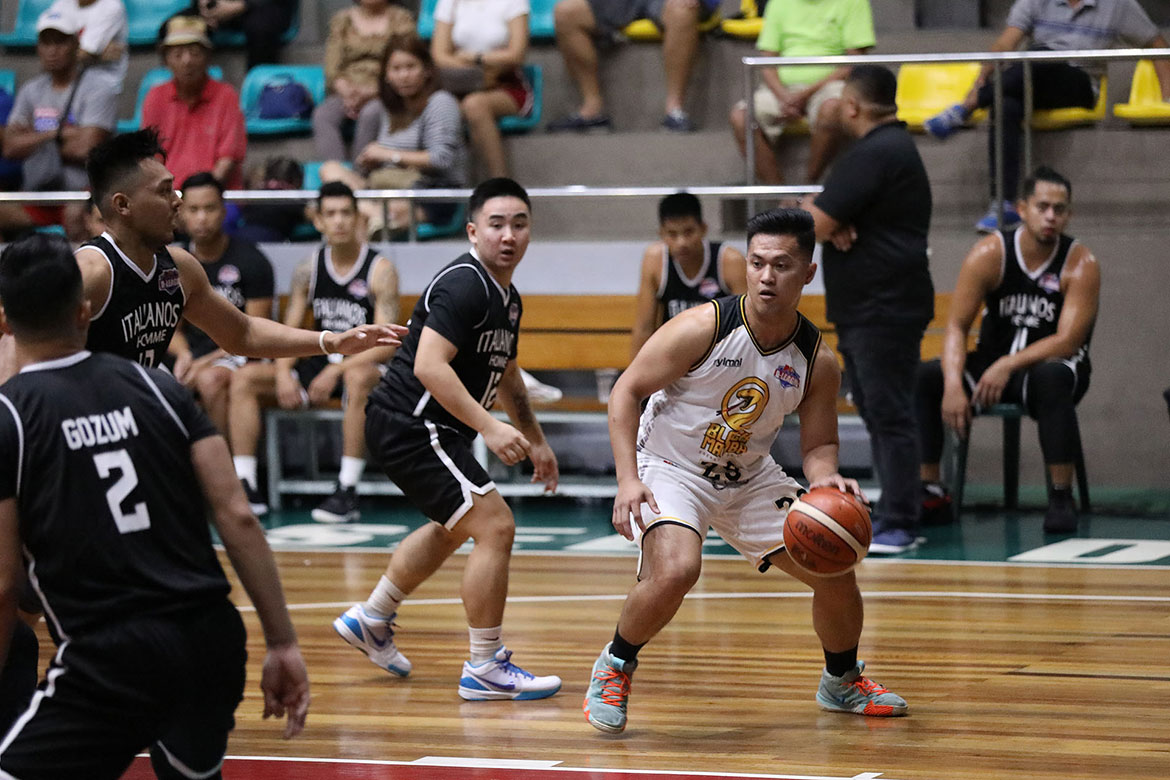 Tiebreaker Times Tayongtong, Black Mamba escape Italiano's Homme for second win Basketball News PBA D-League  Vis Valencia PJ Barua nico bolos Marlon Monte John Tayongtong Italiano's Homme Francis Munsayac Black Mamba Allen Trinidad 2019 PBA D-League Second Conference