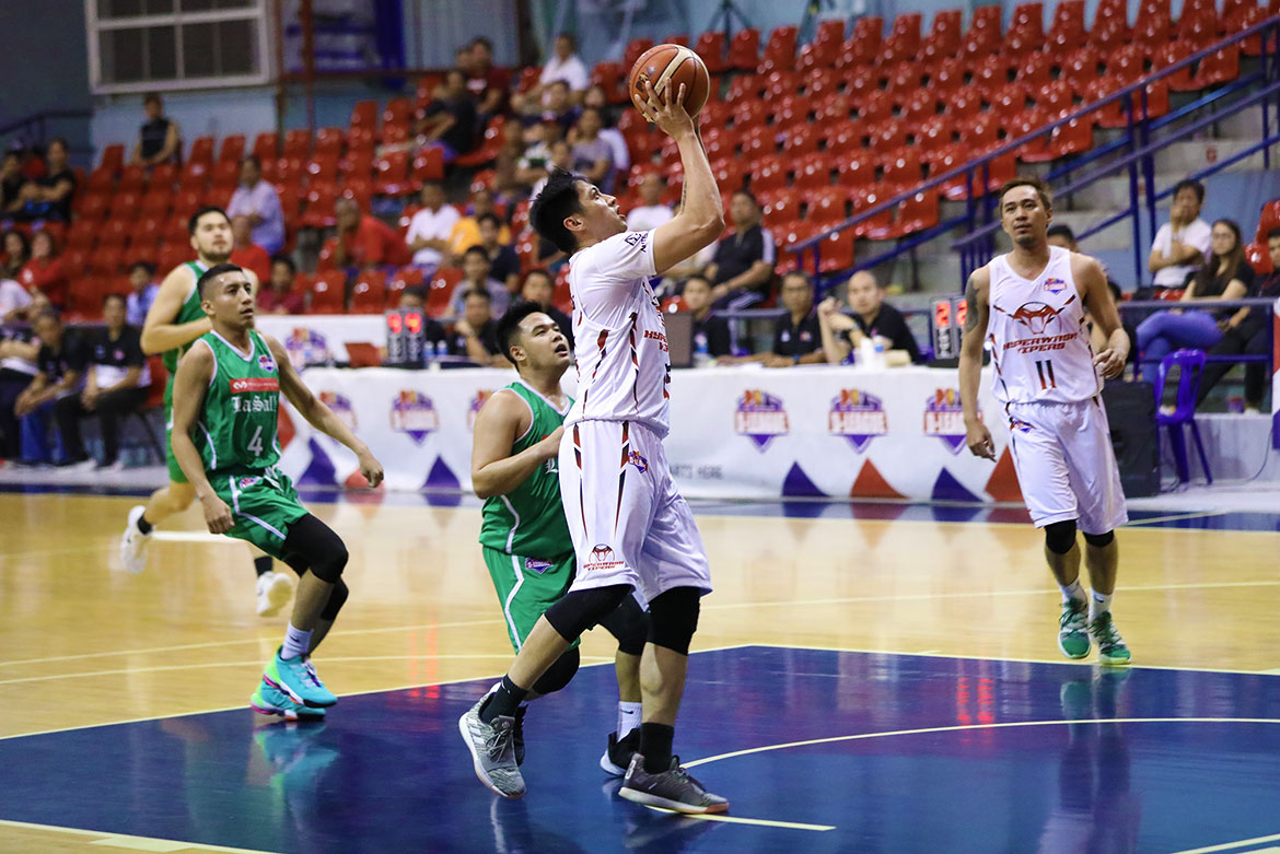 Tiebreaker Times Cawaling scores 48 as Hyperwash outlasts La Salle-Araneta in D-League's highest-scoring game Basketball News PBA D-League  Michael Gonzales McDavid-De La Salle Araneta Stallions Lord Casajeros JR Cawaling Joel Palapal Jeric Fortuna James Mangahas Hyperwash Vipers Henry Iloka Clark Bautista Aires Montilla 2019 PBA D-League Second Conference