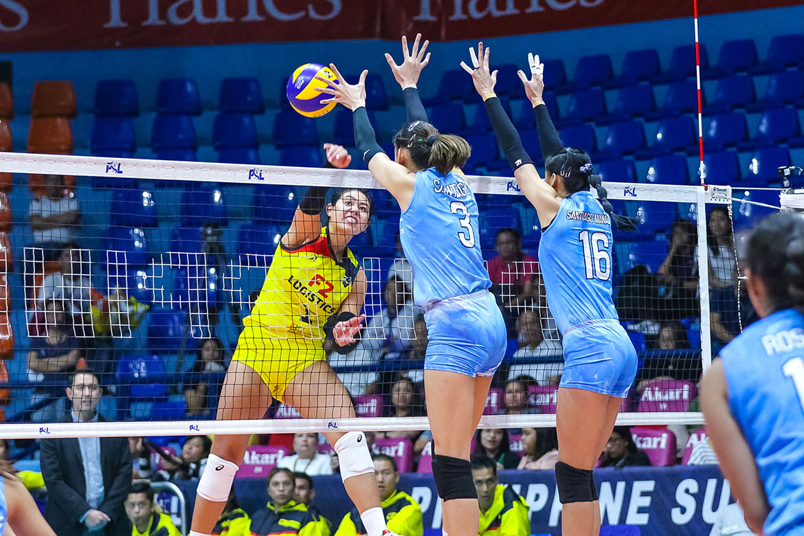 Tiebreaker Times Kalei Mau vows to 'be smarter' versus Santiago siblings News PSL Volleyball  Kalei Mau F2 Logistics Cargo Movers 2019 PSL Season 2019 PSL All Filipino Conference