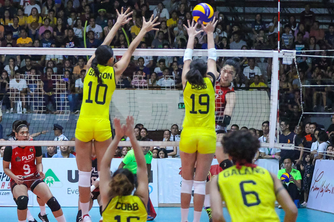 Tiebreaker Times Jerrili Malabanan believes PLDT's peaking at right time News PSL Volleyball  Jerrili Malabanan F2 Logistics Cargo Movers 2019 PSL Season 2019 PSL All Filipino Conference