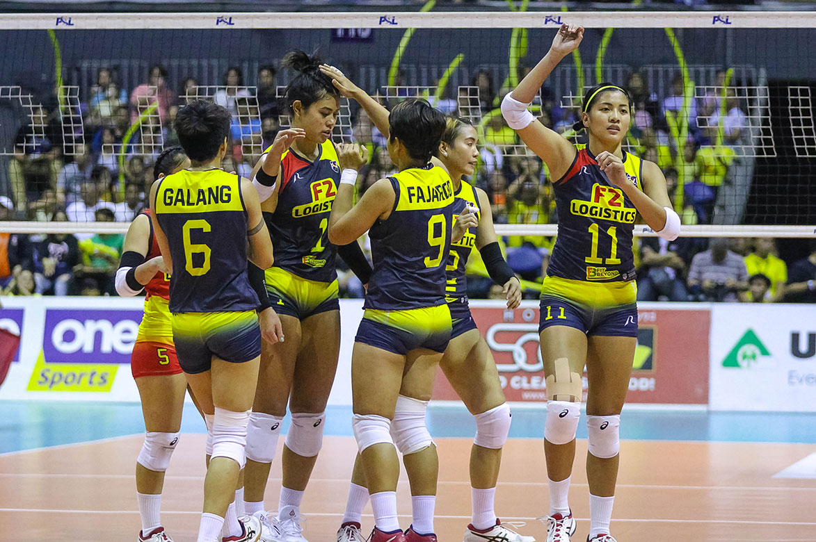 Tiebreaker Times Kalei Mau expected Cignal storm in Game One: 'Something was wrong' News PSL Volleyball  Kalei Mau F2 Logistics Cargo Movers 2019 PSL Season 2019 PSL All Filipino Conference