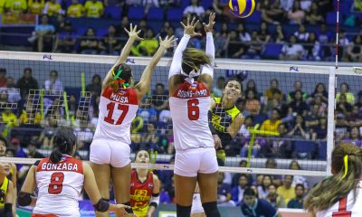Tiebreaker Times F2 Logistics averts disaster, quells Cignal to take Game One News PSL Volleyball  Ramil De Jesus Majoy Baron Kim Fajardo Kim Dy Kalei Mau Jovelyn Gonzaga Jheck Dionela Janine Navarro F2 Logistics Cargo Movers Edgar Barroga Cignal HD Spikers Ara Galang Alohi Robins-Hardy 2019 PSL Season 2019 PSL All Filipino Conference