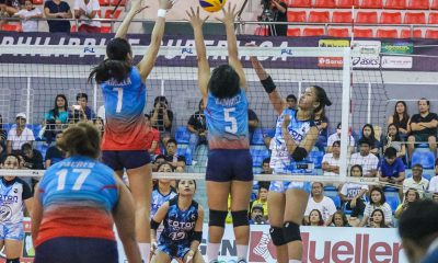 Tiebreaker Times Santiago sisters give Eya Laure triumphant Foton debut, pound short-handed Marinerang Pilipina News PSL Volleyball  Ron Dulay Marinerang Pilipina Jaja Santiago Gyzelle Sy Foton Tornadoes Eya Laure Dindin Santiago Aaron Velez 2019 PSL Season 2019 PSL All Filipino Conference