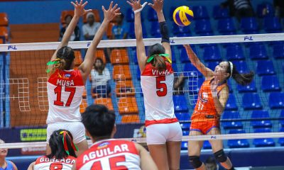 Tiebreaker Times Fiola Ceballos drops 30-30 as Generika-Ayala escapes Cignal for solo third News PSL Volleyball  Sherwin Meneses Ria Meneses Ranya Musa Rachel Daquis Mean Mendrez Kath Arado Jovelyn Gonzaga Jheck Dionela Jamie Lavitoria Generika-Ayala Lifesavers Fiola Ceballos Edgar Barroga Alohi Robins-Hardy 2019 PSL Season 2019 PSL All Filipino Conference