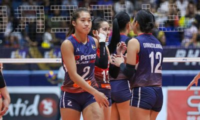 Tiebreaker Times Petron never felt 'down' despite two-set deficit vs F2, says Bernadeth Pons News PSL Volleyball  Petron Blaze Spikers Bernadeth Pons 2019 PSL Season 2019 PSL All Filipino Conference