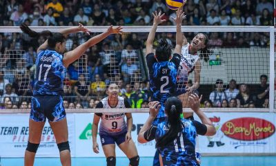 Tiebreaker Times Sisi Rondina erupts for 32 as Petron takes down Foton in epic five-set encounter News PSL Volleyball  Shaq delos Santos Rhea Dimaculangan Petron Blaze Spikers Mika Reyes Jaja Santiago Gyzelle Sy Foton Tornadoes Dindin Santiago-Manabat Denden Lazaro Cherry Rondina Ces Molina Aaron Velez 2019 PSL Season 2019 PSL All Filipino Conference