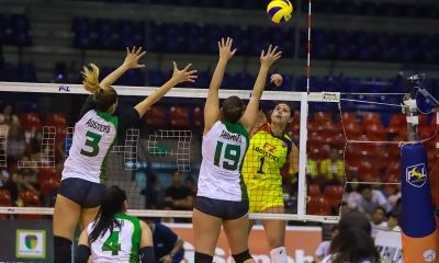 Tiebreaker Times Kalei Mau, F2 Logistics roll into semis with dominant win over Sta. Lucia News PSL Volleyball  Ramil De Jesus Pam Lastimosa Majoy Baron Kim Fajardo Kalei Mau F2 Logistics Cargo Movers Dawn Macandili Babes Castillo Ara Galang 2019 PSL Season 2019 PSL All Filipino Conference