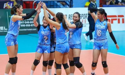 Tiebreaker Times Santiago sisters relish first semis appearance together in two years News PSL Volleyball  Jaja Santiago Foton Tornadoes Dindin Santiago-Manabat 2019 PSL Season 2019 PSL All Filipino Conference