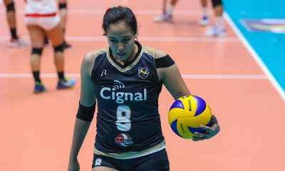 Tiebreaker Times Playing 15 sets in three days is a blessing for Jovelyn Gonzaga News PSL Volleyball  Jovelyn Gonzaga Cignal HD Spikers 2019 PSL Season 2019 PSL All Filipino Conference