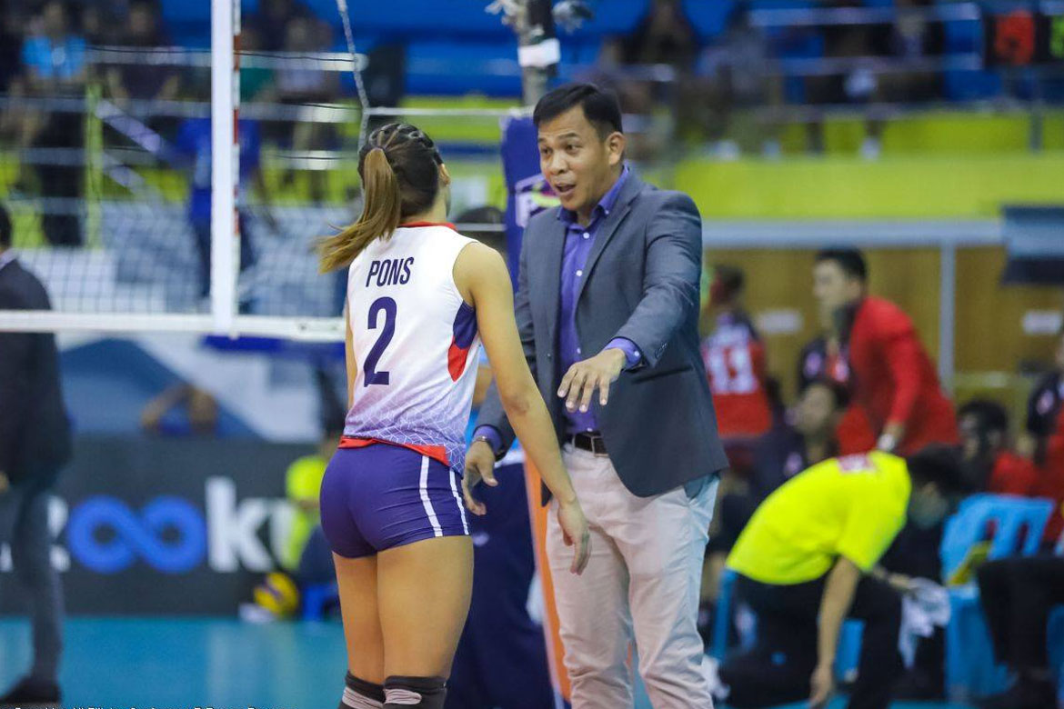 Tiebreaker Times Shaq Delos Santos tells Petron to keep heads high despite Game One loss News PSL Volleyball  Shaq delos Santos Petron Blaze Spikers 2019 PSL Season 2019 PSL All Filipino Conference