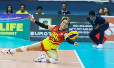 Tiebreaker Times Aby Maraño makes sure semis won't reach Game Two News PSL Volleyball  F2 Logistics Cargo Movers Aby Marano 2019 PSL Season 2019 PSL All Filipino Conference
