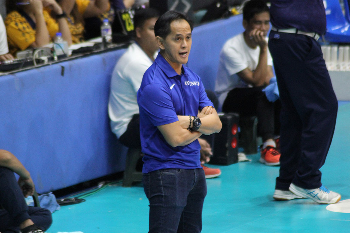 Tiebreaker Times Oliver Almadro will forever be grateful to Letran ADMU CSJL PVL Volleyball  Oliver Almadro Letran Women's Volleyball Ateneo Women's Volleyball 2019 PVL Season 2019 PVL Collegiate Conference