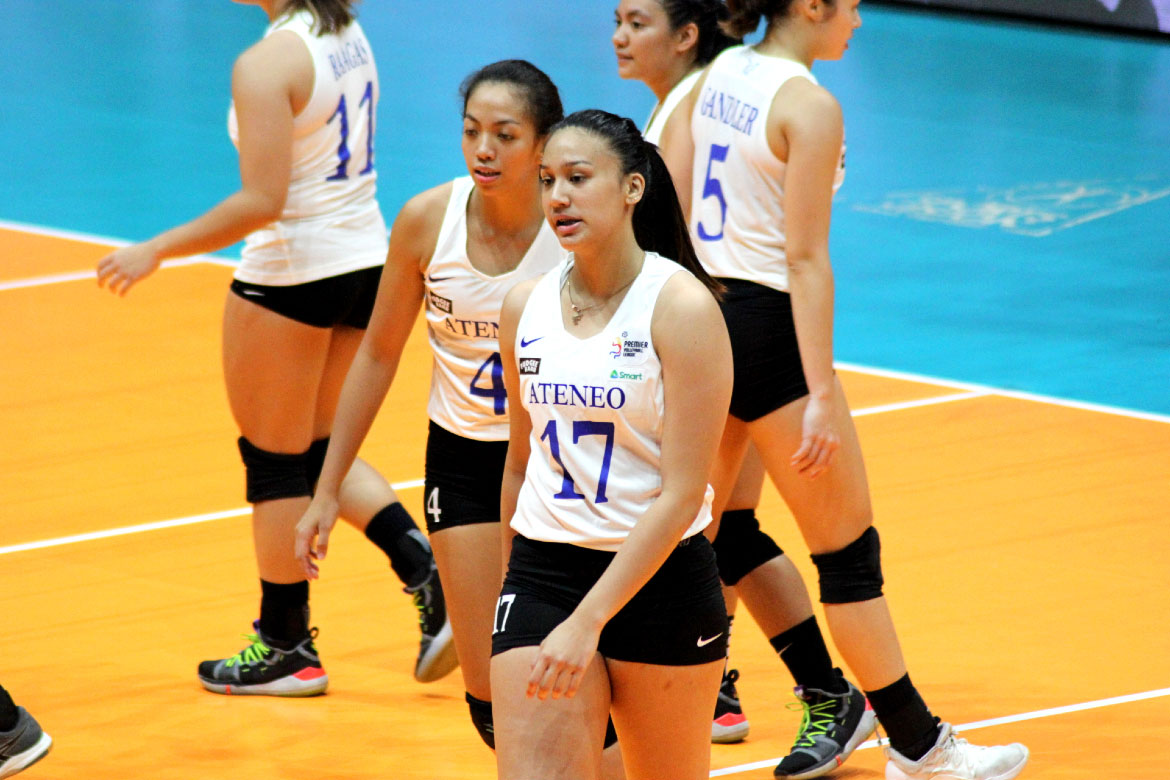 Tiebreaker Times Almadro lauds PVL Collegiate PC POW Faith Nisperos: 'She really listens' ADMU News PVL Volleyball  PVL Collegiate Player of the Week Faith Nisperos 2019 PVL Season 2019 PVL Collegiate Conference