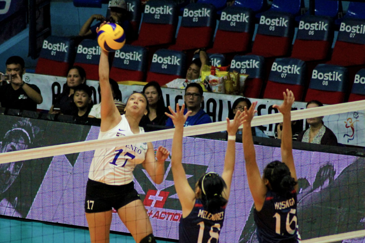 Tiebreaker Times Though just a rookie, Faith Nisperos looks to lead Ateneo ADMU News PVL Volleyball