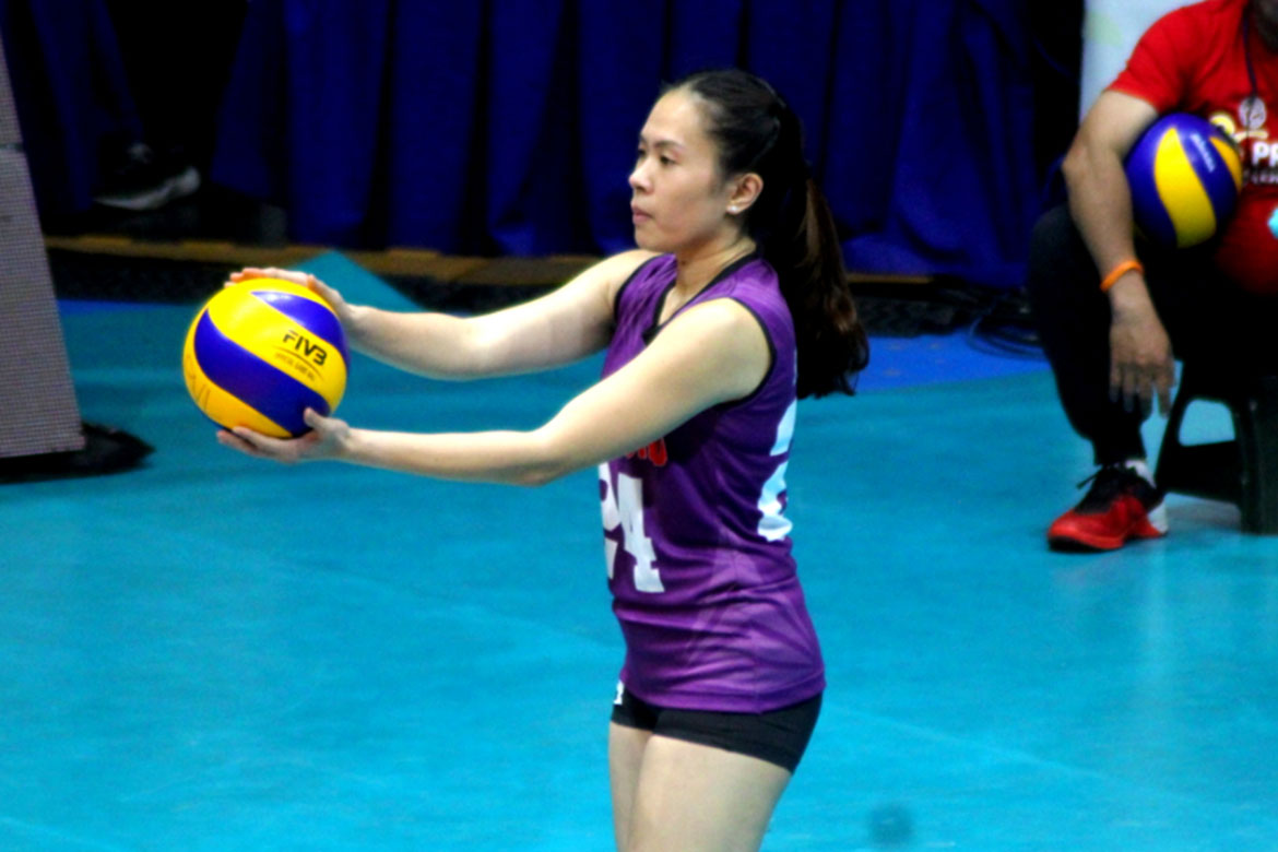Tiebreaker Times Manilla Santos-Ng relishes return: 'It feels so good to be back' News PVL Volleyball  Manilla Santos-Ng Choco Mucho Flying Titans 2019 PVL Season 2019 PVL Open Conference