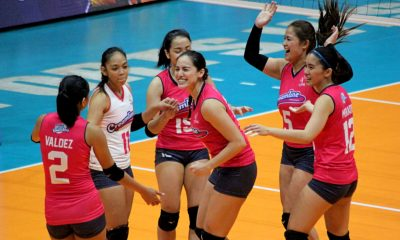 Tiebreaker Times Creamline spoils Air Force return to open title-retention bid News PVL Volleyball  Tai Bundit Risa Sato Philippine Air Force Jet Spikers Michele Gumabao May Ann Pantino Jia Morado Jasper Jimenez Dell Palomata Creamline Cool Smashers Alyssa Valdez 2019 PVL Season 2019 PVL Open Conference