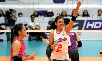 Tiebreaker Times Valdez, Creamline hold off late Choco Mucho rally to remain unscathed News PVL Volleyball  Tai Bundit Oliver Almadro Maddie Madayag Kyla Atienza Kim Gequillana Jia Morada Jema Galanza Creamline Cool Smashers Choco Mucho Flying Titans Celine Domingo Arianna Angustia Alyssa Valdez 2019 PVL Season 2019 PVL Open Conference