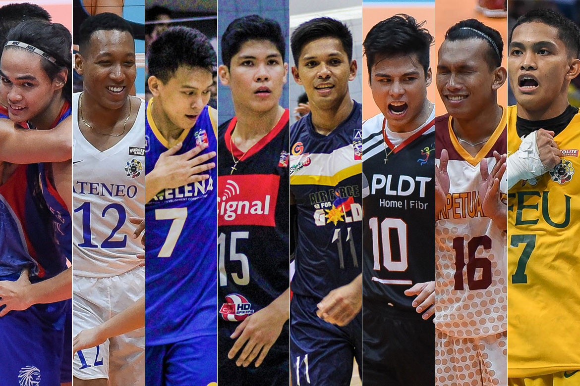 Tiebreaker Times 24 teams duke it out come Spikers' Turf Open Conference ADMU AdU AU DLSU EAC FEU LPU MIT News NU Spikers' Turf SSC-R UPHSD UST Volleyball  VNS Volleyball Club Griffins UST Men's Volleyball Sta. Elena-National University Ball Wreckers San Sebastian Men's Volleyball PNP Defenders PLDT Home Fibr Power Hitters Philippine Navy Sea Lions Philippine Army Troopers Philippine Air Force Jet Spikers Perpetual Men's Volleyball NCBA Wildcats Lyceum Men's Volleyball IEM Volley Masters Easytrip-Raimol EAC Men's Volleyball DLSU Men's Volleyball Cignal HD Spikers CEU Men's Volleyball Ateneo Men's Volleyball Arellano Men's Volleyball Adamson Men's Volleyball 2019 Spikers Turf Season 2019 Spikers Turf Open Conference