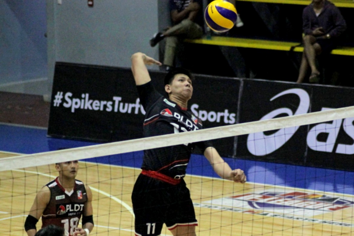 Tiebreaker Times With Quiel out, Joshua Umandal answers Mamon's call News Spikers' Turf Volleyball  PLDT Home Fibr Power Hitters Odjie Mamon Joshua Umandal 2019 Spikers Turf Season 2019 Spikers Turf Open Conference