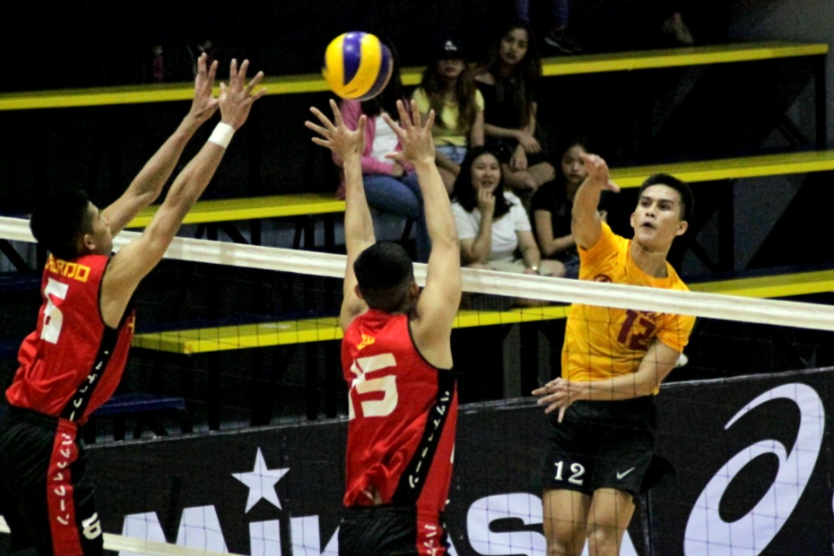 Tiebreaker Times Rookies shine as Malinis powers Perpetual win over FEU, Senoron leads UST to bounce back win FEU MIT News Spikers' Turf UPHSD UST Volleyball  UST Men's Volleyball Sammy Acaylar Ronniel Rosales Red Christensen Perpetual Men's Volleyball Odjie Mamon Nino Nazareno Mardy Galang Mapua Men's Volleyball Louie Ramirez Lorenz Senoron Lorence Cruz Lester Sawal Kennry Malinis JP Bugaoan John San Andres Hero Austria Herman Eugenio FEU Men's Volleyball EJ Casana Easytrip-Raimol CEU Men's Volleyball Alfredo Pagulong 2019 Spikers Turf Season 2019 Spikers Turf Open Conference