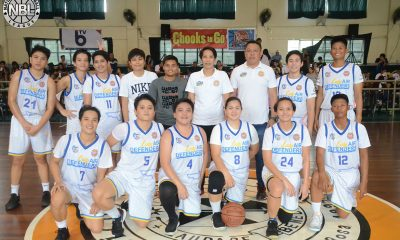 Tiebreaker Times Cindy Resultay, Gemma Miranda punches Air Force's ticket to WNBL semis Basketball NBL News  Taguig Lady Generals Ria Nabalan Philippine Navy-Go for Gold Lady Sailors Philippine Air Force Lady Defenders Pampanga Delta Amazons Laguna Lady Pistons Gemma Miranda Cleon and Clyde Lady Snipers Cindy Resultay Afril Bernardino 2019 NBL Season