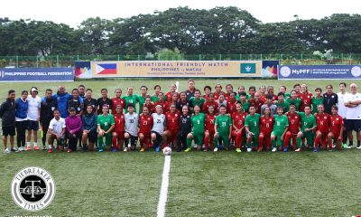 Tiebreaker Times PWNFT holds first FIFA Friendly in years, overwhelms Macau Football News Philippine Malditas  Quinley Quezada Philippine Women's National Football Team Patrice Impelido Mea Bernal Malditas Friendly Macau (Football) Let Dimzon Hali Long Camille Rodriguez Alisha Del Campo Alesa Dolino