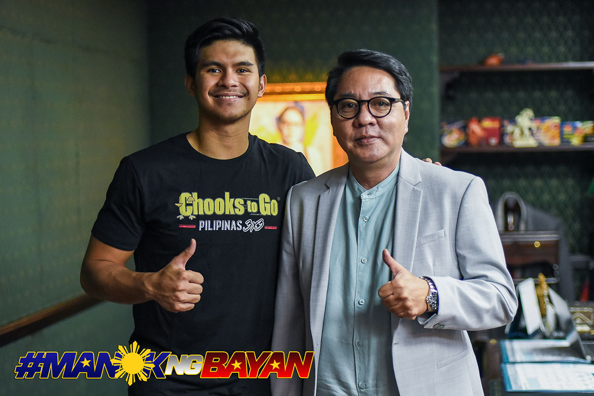 Tiebreaker Times Chooks-to-Go gives Kiefer Ravena own branch Basketball Gilas Pilipinas News  Ronald Mascarinas Kiefer Ravena Gilas Pilipinas Men Chooks-to-Go