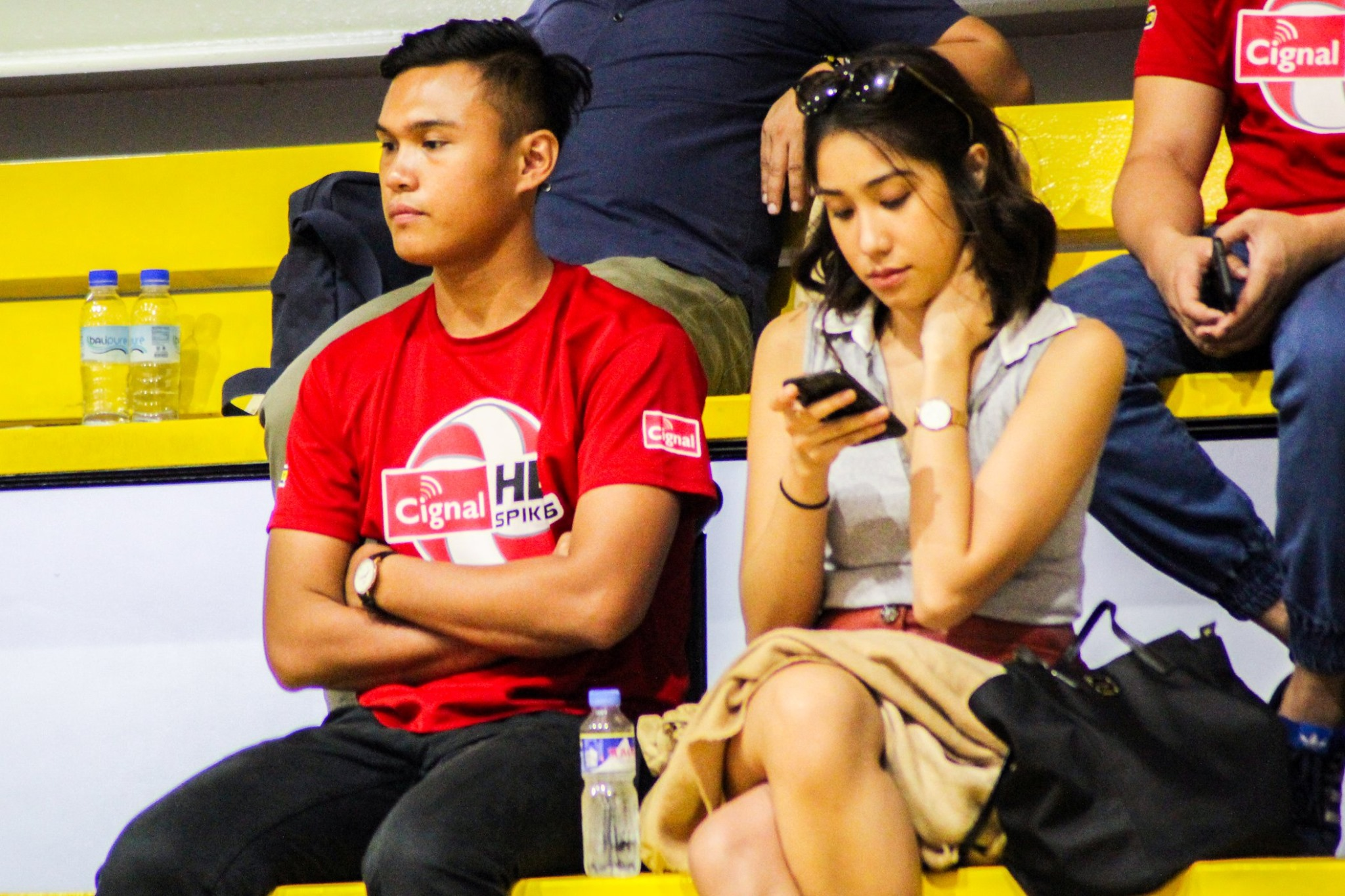 Tiebreaker Times Ish Polvorosa eager to get back in shape for Cignal's double gold bid News Spikers' Turf Volleyball  Ish Polvorosa Cignal HD Spikers 2019 Spikers Turf Season 2019 Spikers Turf Open Conference