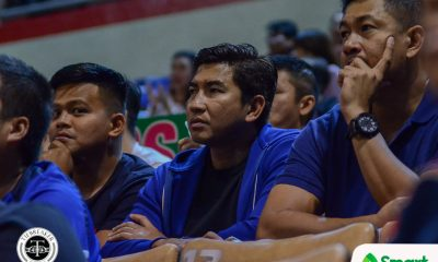 Tiebreaker Times Aldin Ayo sees one constant in Letran: 'Nandoon pa rin yung Arriba' Basketball CSJL NCAA News  NCAA Season 95 Seniors Basketball NCAA Season 95 Letran Seniors Basketball Aldin Ayo