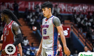 Tiebreaker Times Chooks-to-Go/Collegiate PC POW Justin Arana proving that he belongs AU Basketball NCAA News  NCAA Season 95 Seniors Basketball NCAA Season 95 Justin Arana Arellano Seniors Basketball