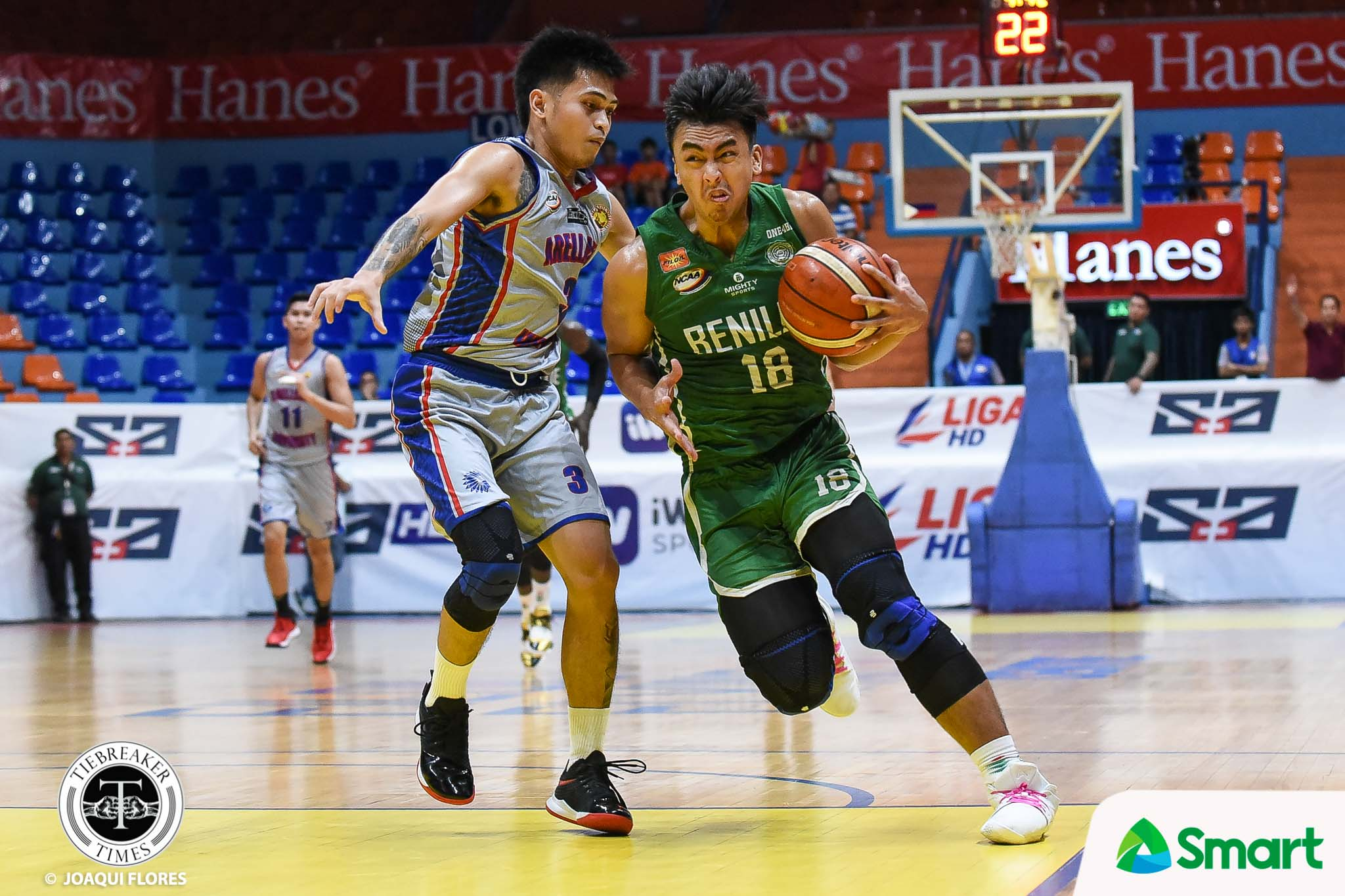 Tiebreaker Times Long lay-off helps Justin Gutang recover from leg injuries Basketball CSB NCAA News  NCAA Season 95 Seniors Basketball NCAA Season 95 Justin Gutang Benilde Seniors Basketball