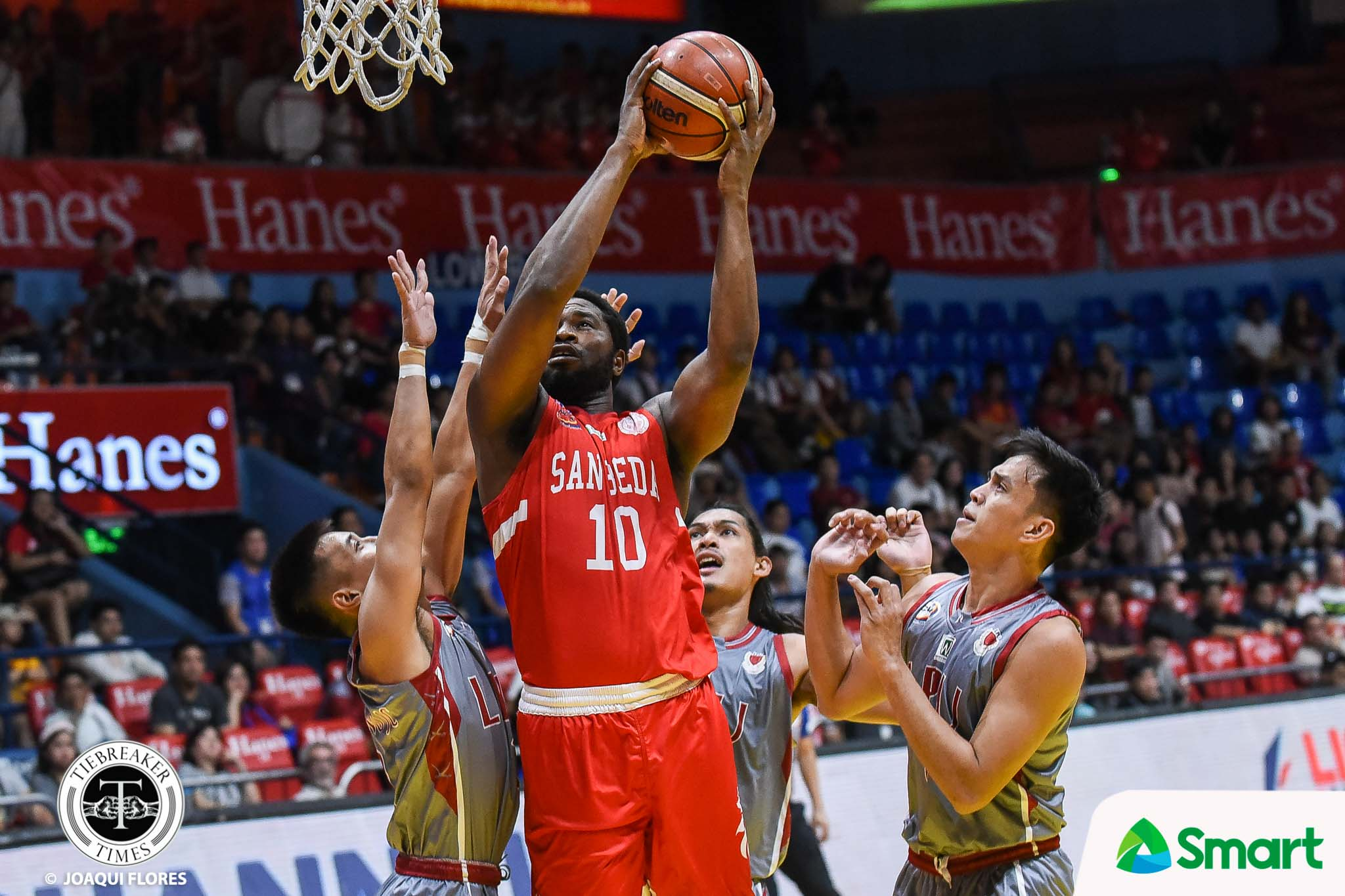 Tiebreaker Times San Beda Red Lions complete elims sweep, punch ticket to Finals Basketball LPU NCAA News SBC  Topex Robinson San Beda Seniors Basketball NCAA Season 95 Seniors Basketball NCAA Season 95 Lyceum Seniors Basketball Boyet Fernandez
