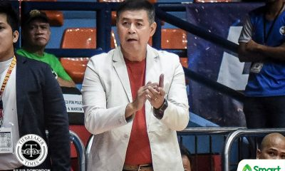 Tiebreaker Times Egay Macaraya apologizes to Nzeusseu, Lyceum Basketball NCAA News SSC-R  San Sebastian Seniors Basketball NCAA Season 95 Seniors Basketball NCAA Season 95 Egay Macaraya