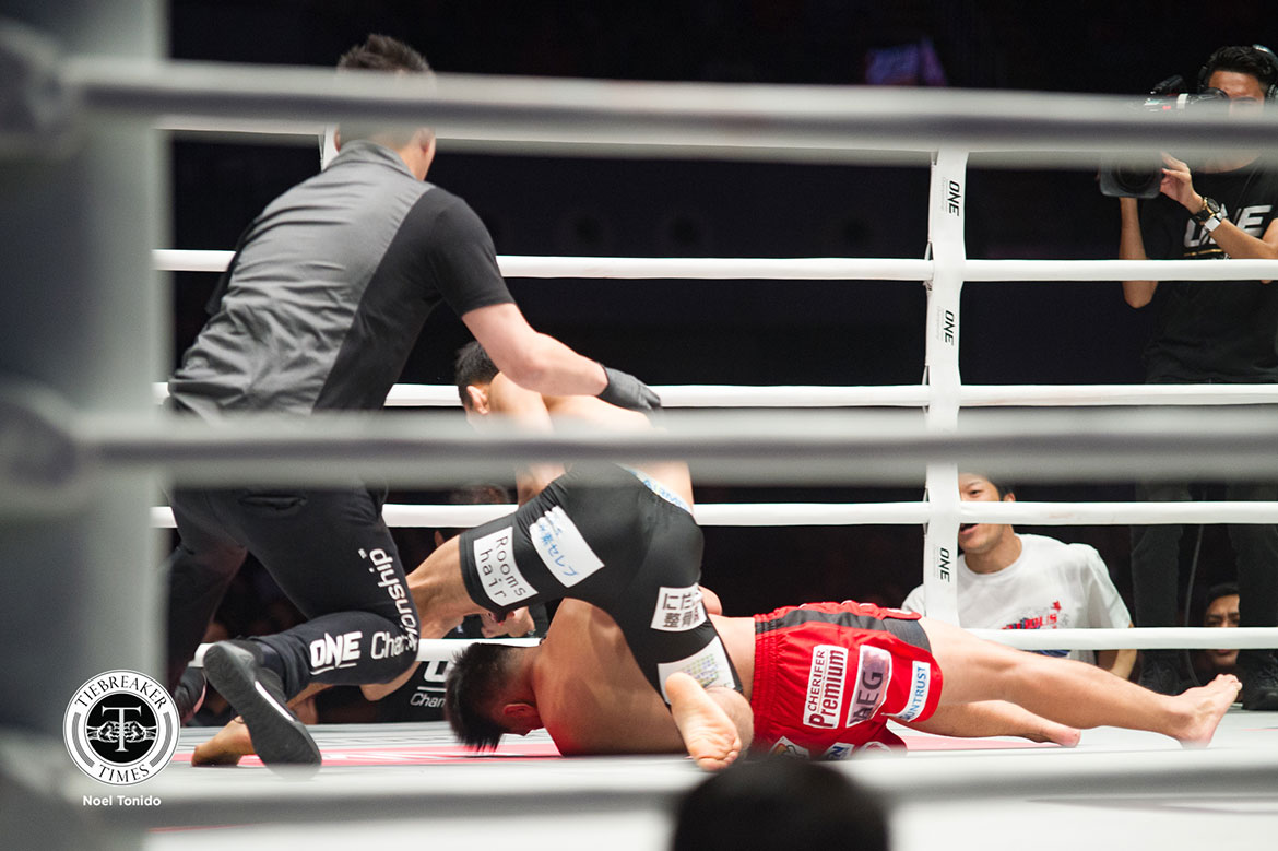 Tiebreaker Times Geje Eustaquio remains undaunted despite receiving first KO loss Mixed Martial Arts News ONE Championship  Team Lakay ONE: Dawn of Heroes Geje Eustaquio