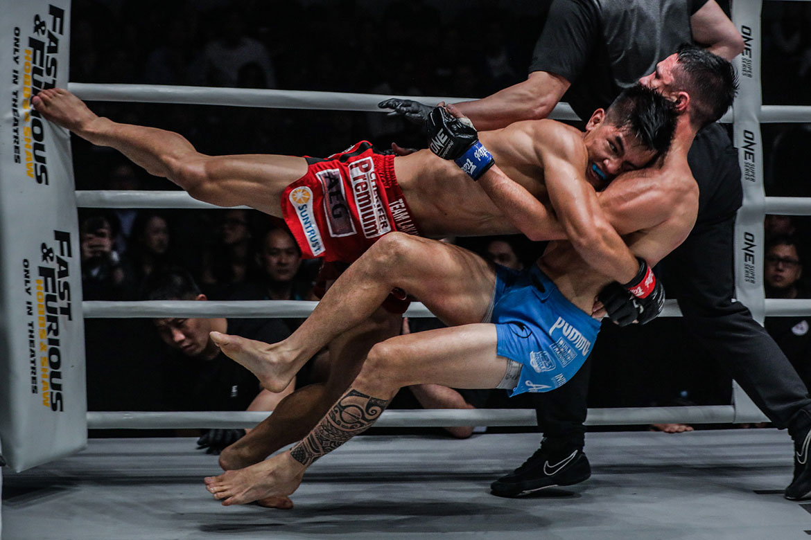 Tiebreaker Times After beating 'idol' McLaren, Danny Kingad takes aim at Demetrious Johnson Mixed Martial Arts News ONE Championship  Team Lakay ONE: Dawn of Heroes Demetrious Johnson Danny Kingad