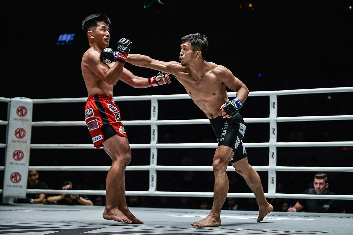 ONE-Dawn-of-Heroes-yuya-wakamatsu-def-geje-eustaquio Geje Eustaquio wants winner of Wakamatsu-Kim bout Mixed Martial Arts News ONE Championship  - philippine sports news