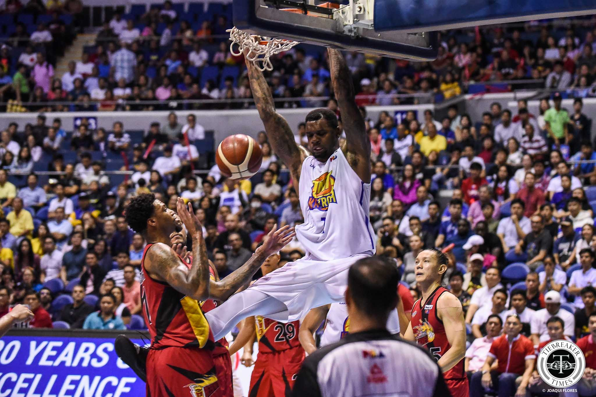 Tiebreaker Times Terrence Jones crowned Commissioner's Cup Best Import Basketball News PBA  TNT Katropa Terrence Jones PBA Season 44 2019 PBA Commissioners Cup