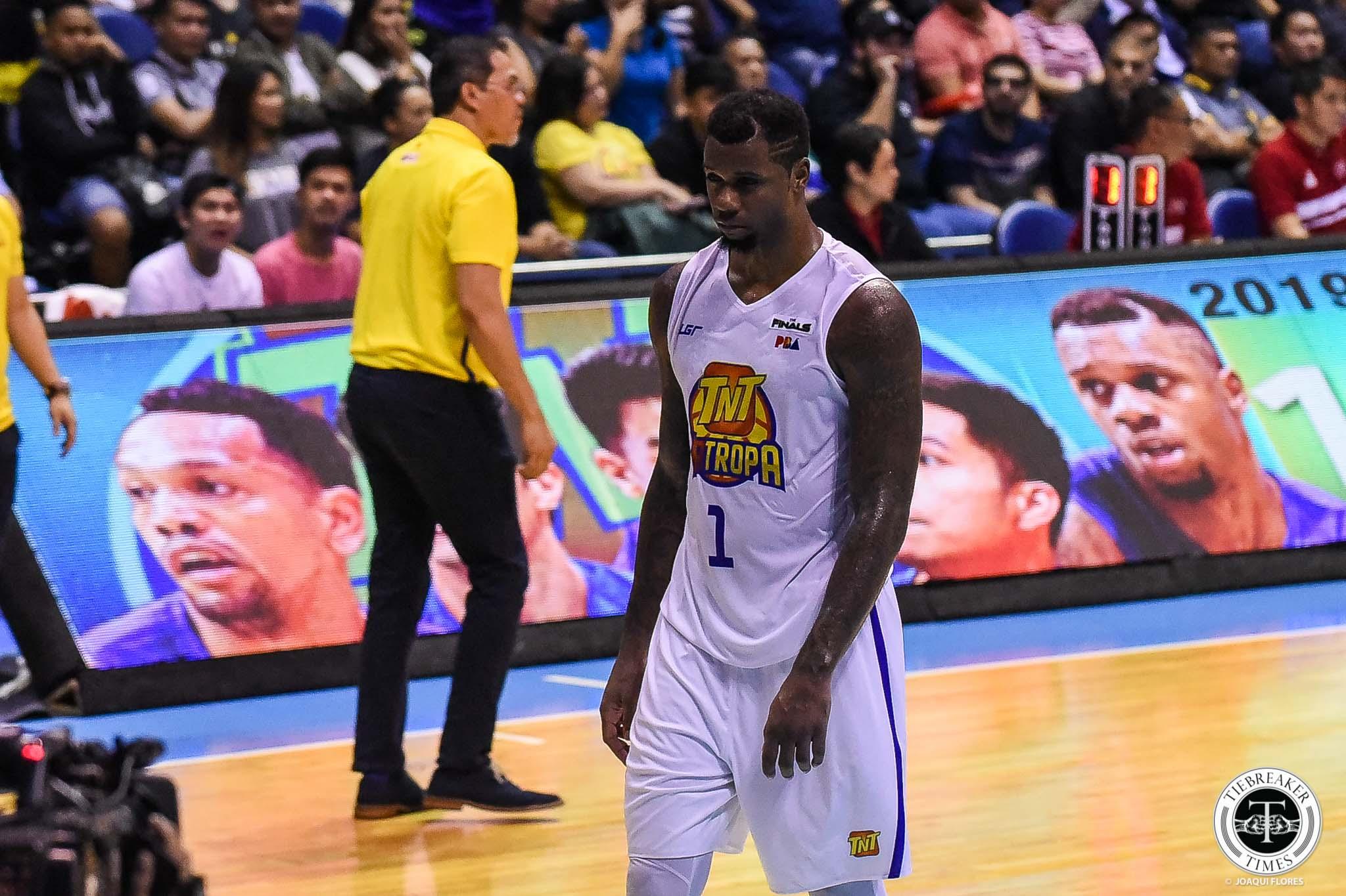 Tiebreaker Times Terrence Jones accepts Arwind Santos' apology Basketball News PBA  TNT Katropa Terrence Jones PBA Season 44 2019 PBA Commissioners Cup