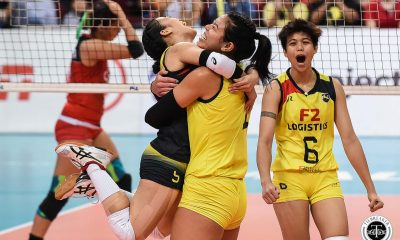 Tiebreaker Times Ramil De Jesus on Kalei Mau: 'Siya lang 'yung kulang ng team para makabalik kami' News PSL Volleyball  Ramil De Jesus Kalei Mau F2 Logistics Cargo Movers 2019 PSL Season 2019 PSL All Filipino Conference