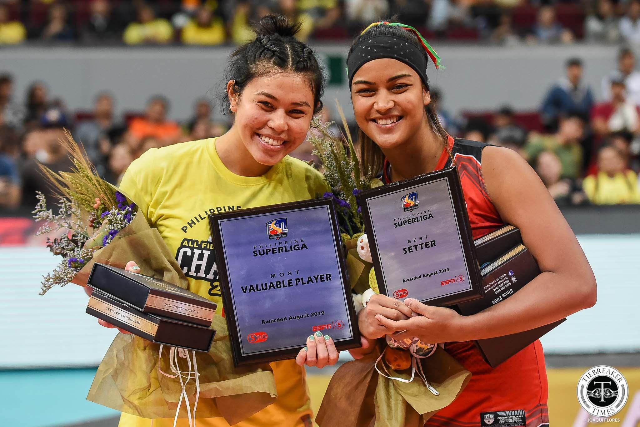 Tiebreaker Times Delos Santos rules Mau, Robins-Hardy out of ASEAN GP second leg News PSL Volleyball  Shaq delos Santos Philippine Women's National Volleyball Team Kalei Mau Alohi Robins-Hardy 2019 SEA Grand Prix