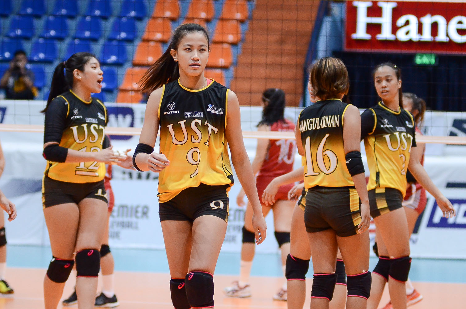 Tiebreaker Times EJ Laure out to make up for lost time News PVL UST Volleyball  UST Women's Volleyball Kungfu Reyes EJ Laure 2019 PVL Season 2019 PVL Collegiate Conference
