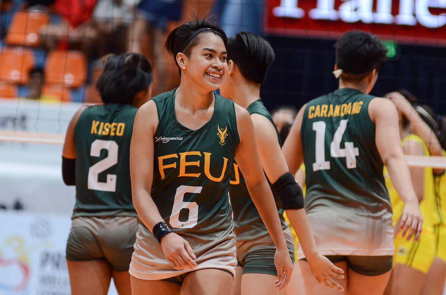 Tiebreaker Times Ivana Agudo, FEU Lady Tamaraws run past TIP for first win FEU News PVL Volleyball  Wielyn Margallo TIP Lady Engineers Shiela Kiseo Lois Florendo Ivana Agudo George Pascua Gel Cayuna FEU Women's Volleyball Boy Paril 2019 PVL Season 2019 PVL Collegiate Conference