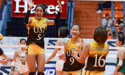Tiebreaker Times Collegiate PC POW Imee Hernandez credits Reyes for easy transition News PVL Volleyball  UST Women's Volleyball PVL Player of the Week Imee Hernandez 2019 PVL Season 2019 PVL Collegiate Conference