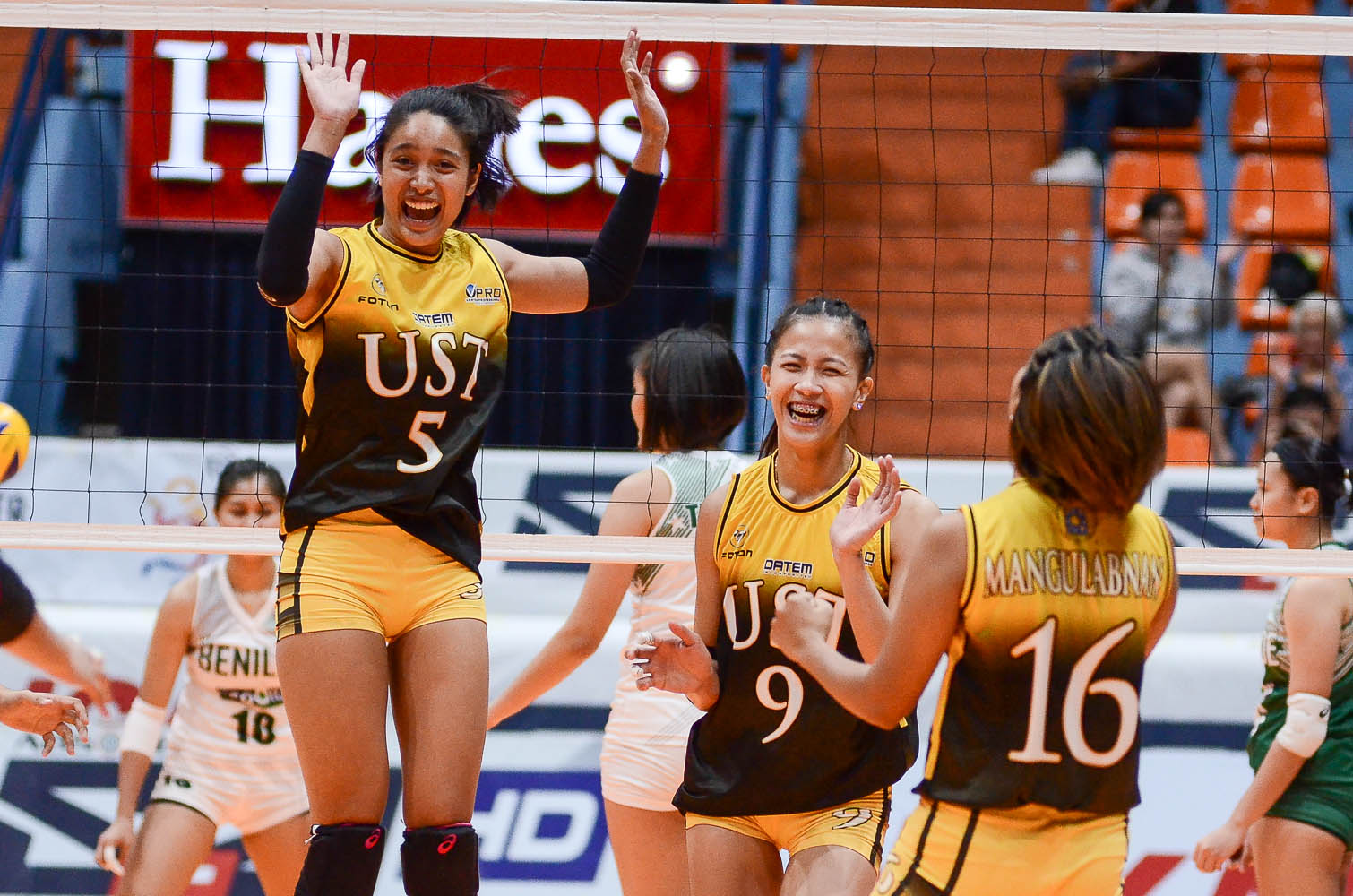 PVL-Collegiate-UST-CSB-Hernandez-Laure-1717 Imee Hernandez looks to replicate magic with Eya Laure in NT 2021 SEA Games News Volleyball  - philippine sports news