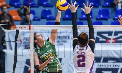 Tiebreaker Times PacificTown-Army rallies back from 0-2 deficit, stuns Choco Mucho in marathon game News PVL Volleyball  Royse Tubino Pacific Town-Army Lady Troopers Oliver Almadro Nene Bautista Maddie Madayag Kungfu Reyes Kat Tolentino Jovelyn Gonzaga Bang Pineda Angela Nunag Alina Bicar ac masangkay 2019 PVL Season 2019 PVL Open Conference